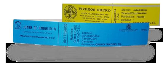 Etiquetas Sanidad Orero